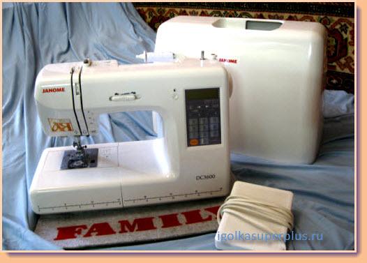Современная швейная машинка - главный инструмент для шитья
