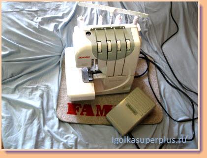 Оверлок - необходимый инструмент для шитья